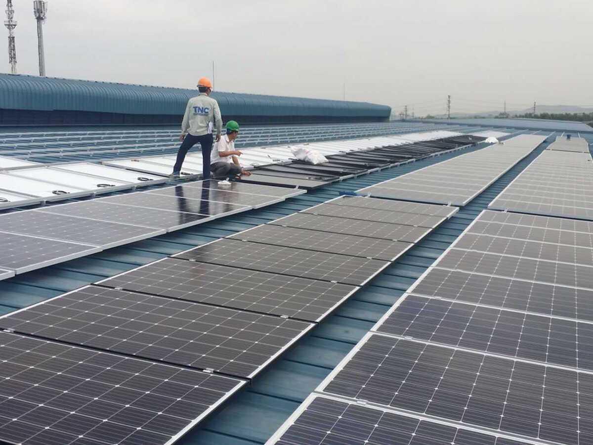 thẩm định giá năng lượng mặt trời
