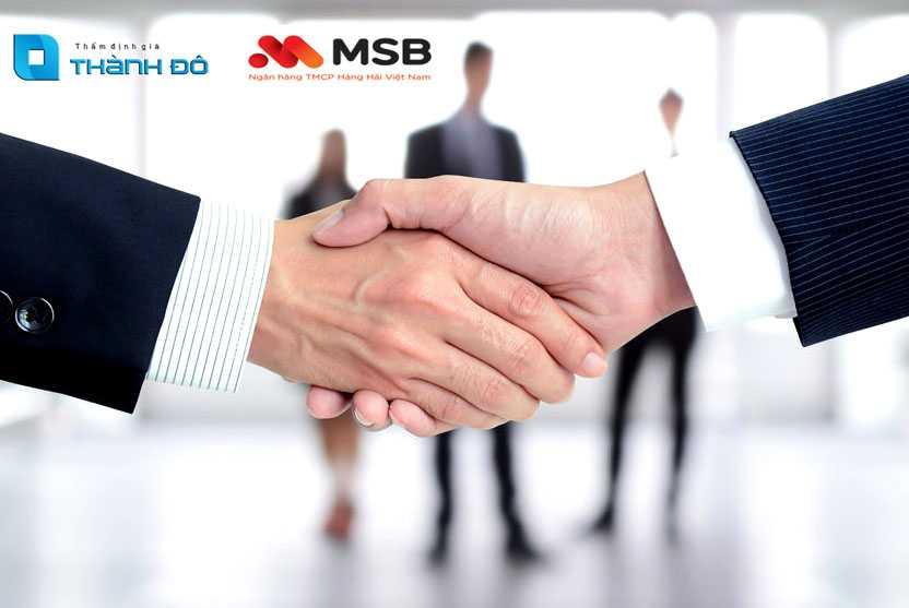 hợp tác thẩm định giá TDVC MSB