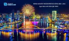Bảng giá đất Đà Nẵng giai đoạn 2020 đến 2024