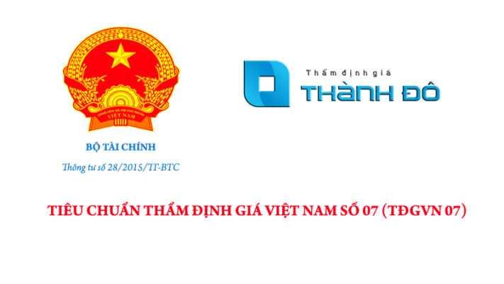 Tiêu chuẩn thẩm định giá Việt Nam số 07