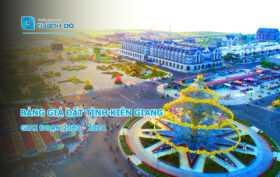 Bảng giá đất Kiên Giang 2020