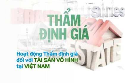 Thẩm định giá tài sản vô hình tại Việt Nam