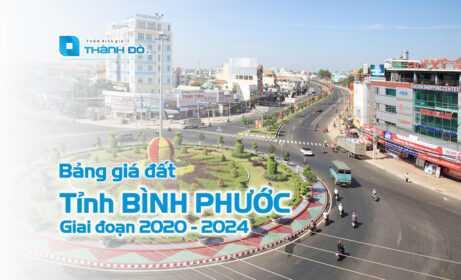 Bảng giá đất tỉnh Bình Phước 2020 - 2024