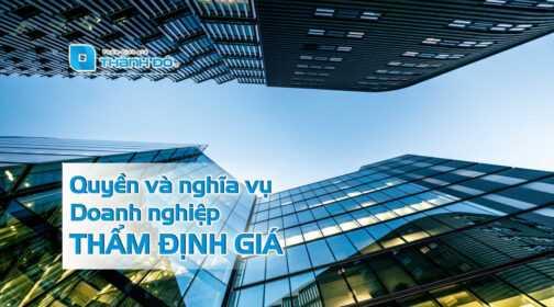 Quyền và nghĩa vụ doanh nghiệp thẩm định giá