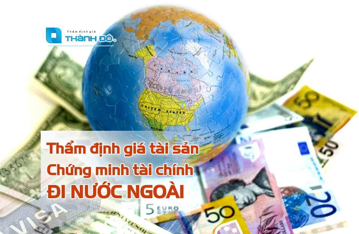 Thẩm định giá tài sản chứng minh tài chính đi nước ngoài