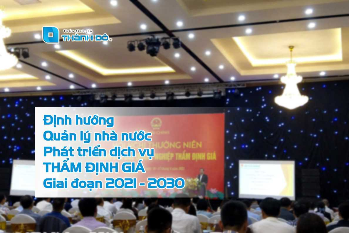 phát triển doanh nghiệp thẩm định giá 2021