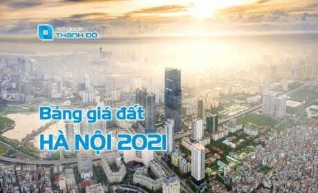 Bảng giá đất Hà Nội